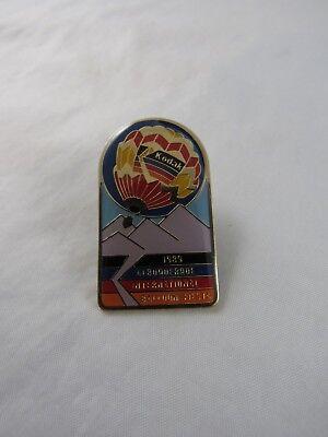 1989 Albuquerque International Balloon Fiesta Sponsor Hat Lapel Pin Kodak