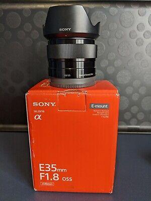 SONY SEL35F18 35mm f/1.8 OSS Lens E Mount