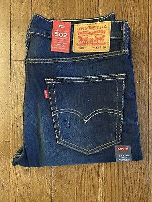 Levis 502 Mens 2 Way Strech 33X30
