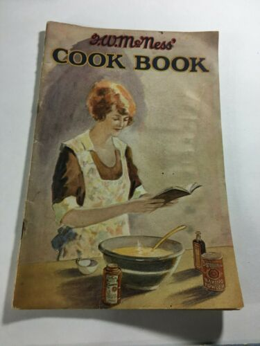 Furst McNess Vintage Advertising Recipe Booklet 64 pages