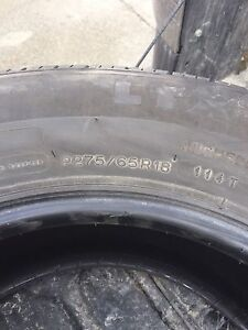 275/65/18 all season Michelin tires