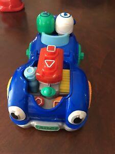 Leapfrog racing repair car