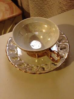 Lustre wear fine china cup and saucer Mosman Mosman Area Preview