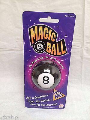 Small Mini Magic 8 Ball Mattel Lucky Billard Eight Ball Free U S  Shipping