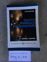Electric Machinery Fundamentals North Narrabeen Pittwater Area Preview