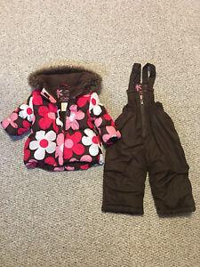 Girls Toddler snowsuit Size 1