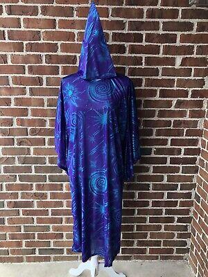 California Costume Child's Super Wizard 2000 Purple Robe & Hat New - Wizard Robe