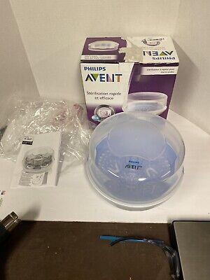 Philips AVENT SCF281/05 Microwave Steam Sterilizer for Baby Bottles