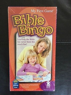 Bible Bingo Faith Kidz My First Game New Sealed](Bible Bingo Game)