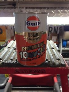 Gulf oil can full