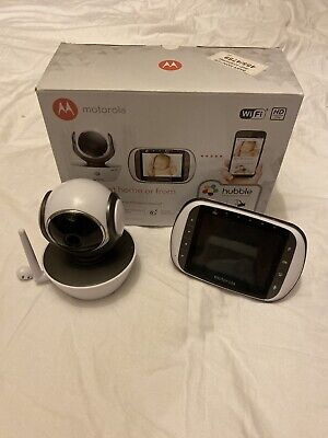 Motorola Mbp853 Connect WiFi HD Digital Video Baby Monitor