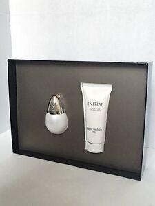Initial by Boucheron 1.7 oz EDT Spray And Body Cream 2pc Set Women NIB Rare