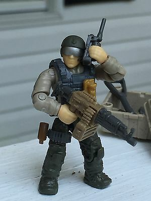 Lego / Mega Blöcke Minifigur Militär Armee Delta Force Call Of Duty Seal Team