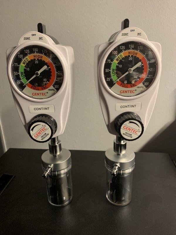 1 Pair Of Gentec Vacuum Regulator 881VR-300-OH-T