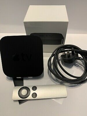 🍏 Apple TV 3rd Generation Media Streamer Including Remote 🍏 WiFi AirPlay