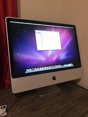 imac 24 Inches Intel Core 2 Duo 3.06GHz 2008 2GB RAM 1TB HDD 512 Graphic Card