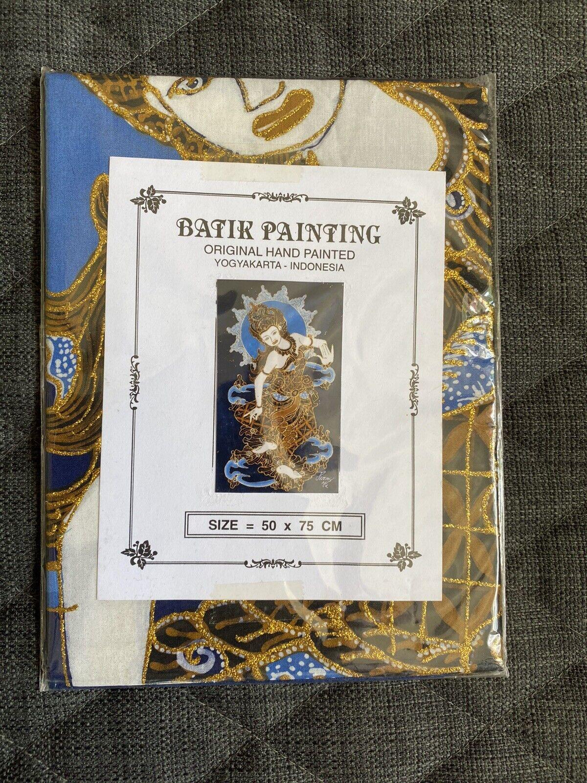 Batik Painting- Yogyakarta- Indonesia- Handpainted