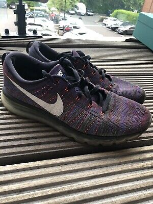Nike Fly Knit Max Mens Size UK 10 Purple Running Trainers