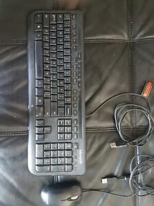 Wired Microsoft Keyboard and Mouse