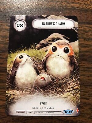 Nature's Charm Star Wars: Destiny Full Art Promo Way Of The Force #149