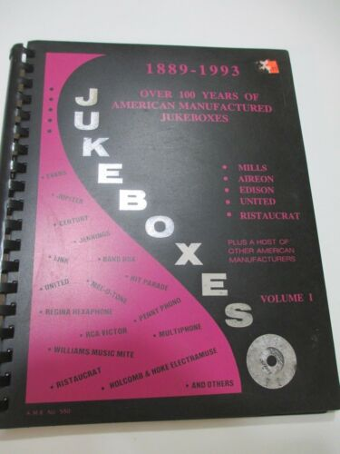 IDENTIFICATION BOOK OF JUKEBOXES, VOL. 1 (MILLS, AIREON, EDISON, UNITED, & RISTO