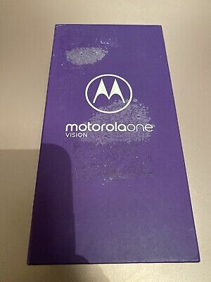 """Motorola One Vision Smartphone Android 6.34"""" 4G LTE 4GB 128GB 48mp One Scratch"""