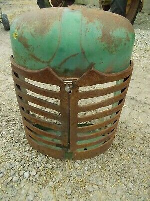 Oliver 88 Diesel Tractor Front Nose Cone Grill Assembly For Over Radiator