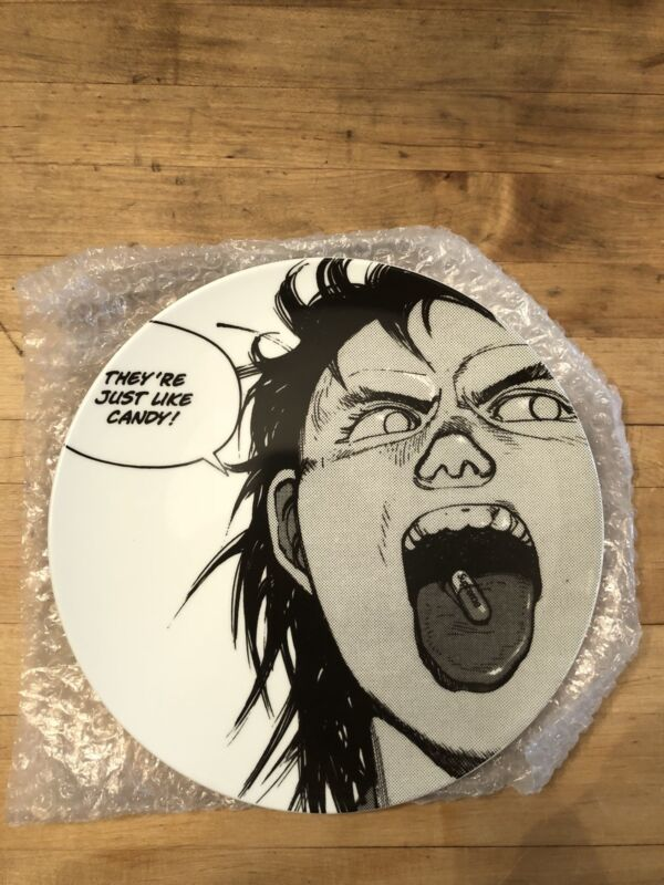 Supreme x Akira Pill Plate Ceramic FW17