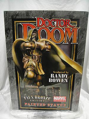 Bowen Designs Dr.Doom Statue #02/300 Künstlich Bronze Sideshow Fantastisch Dr Doom Statue
