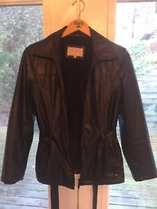 Women's size small faux leather jacket