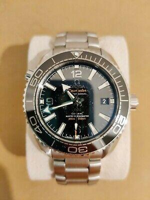 Omega Planet Ocean Co-Axial Master Chronometer Black Men's Watch