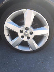 *****2004 holden astra sri turbo opel opc rims with tyres Southbank Melbourne City Preview