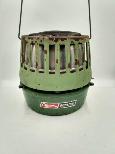 Vintage Coleman Deluxe Catalytic Heater 5000-8000 BTU Avocado 515A