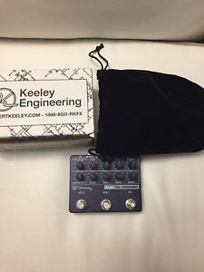 Keeley SuperMod effects pedal