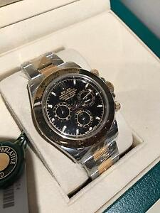Rolex Daytona twotone black dial Norwood Norwood Area Preview