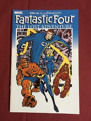FANTASTIC FOUR: THE LOST ADVENTURE NM (Marvel 2008) Stan Lee/Jack Kirby