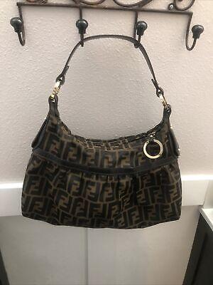 Fendi vintage Zucca hobo shoulder bag