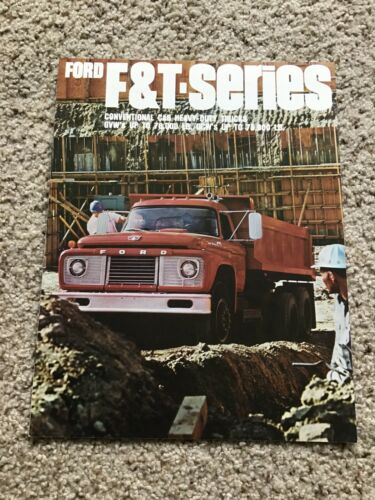 1967  Ford F an T series heavy-duty trucks, sales literature