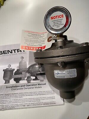 Sentry Blacoh Pulsation Surge Control Model Ct3120t-1  1 300 Psi