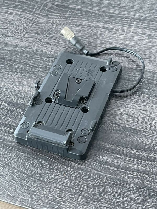 IDX V-Mount Battery Plate with Hirose 4P Pigtail
