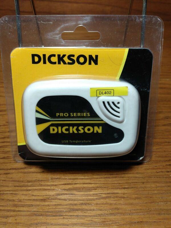 New Dickson DL402 USB Temperature Pro Series Dickson