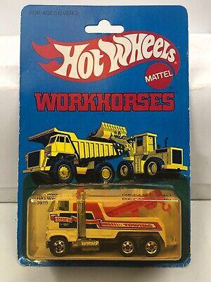 Hot Wheels 1979 Workhorses Rig Wrecker Moc