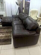 Leather lounge. Dakabin Pine Rivers Area Preview