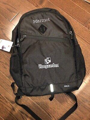 Brand New Marmot Anza Backpack Hoegaarden Black