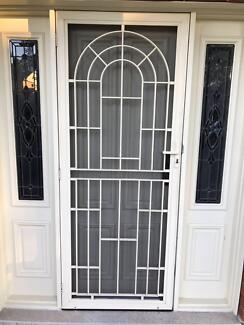 Security Screen Door with lock