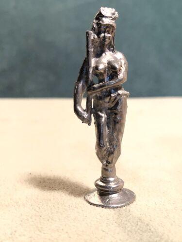 Topless Female Civil War Soldier Pipe Tamper