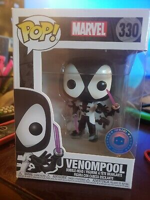 "Funko Pop Marvel Deadpool ""Venompool"" #330 (Pop in a Box Exclusive)"