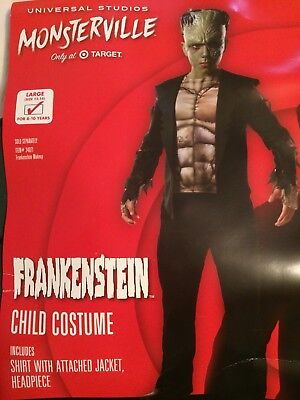 Rubies 640460 Target Monsterville Child Youth FRANKENSTEIN Costume Large - Child Frankenstein Costume