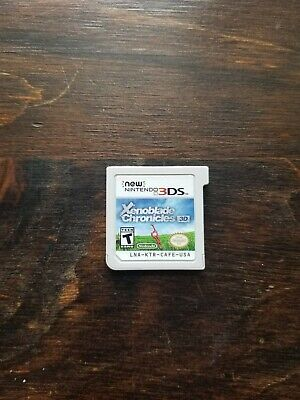 Xenoblade Chronicles 3D (New Nintendo 3DS, 2015) Cartridge Only