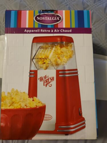 NOSTALGIA 120V  50's Style Hot Air Popcorn Maker